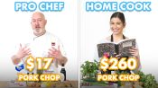 $260 vs $17 Pork Chop Dinner: Pro Chef & Home Cook Swap Ingredients