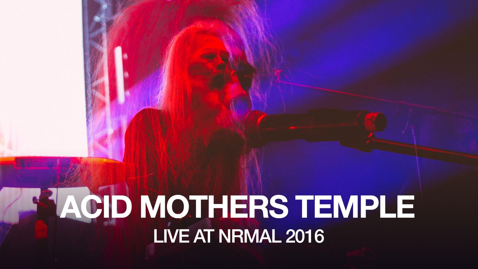"""Acid Mothers Temple perform """"La Novia"""" at NRMAL 2016"""
