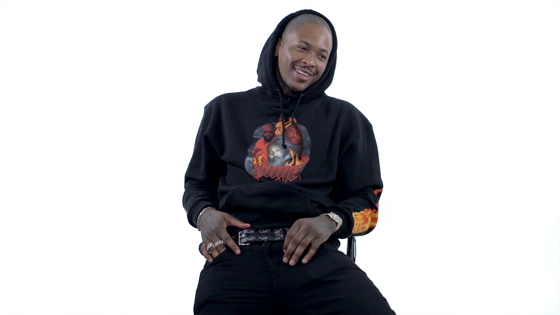 YG Rates Bruce Springsteen, Donald Trump's Hair and Veganism | Over/Under