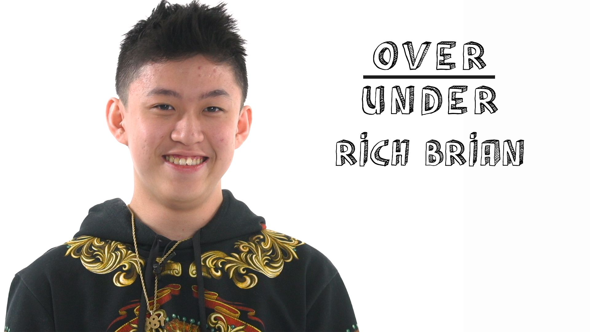 Rich Brian Rates Fanny Packs, Ramen Burgers, and Illegal Farting