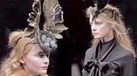 Alexander McQueen Bird's Nest Headdress