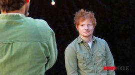 Ed Sheeran's Teen Vogue Photoshoot