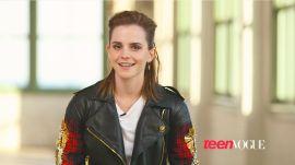 Emma Watson's Official Teen Vogue Cover Shoot Video