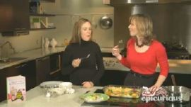 Samantha Bee Makes Eggs Benedict Bread Pudding