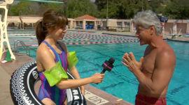 Splash's Greg Louganis Teaches Glamour How to Dive