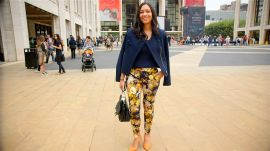 How New York Fashion Week Showgoers are Wearing Fall's Hottest Looks