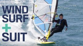 Kai Lenny Style Challenge: Windsurf in a Suit