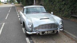 GQ Takes James Bond's Aston Martin For a Ride