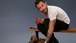 Meatball Entrepreneur Michael Chernow Loves his Vintage Tees and Leather Jackets
