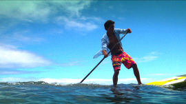 Kai Lenny Style Challenge: Stand Up Paddleboarding Lesson