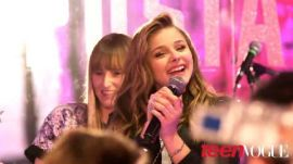 Chloe Grace Moretz Celebrates Her Sweet 16 with Teen Vogue