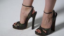 The Seventies-Inspired Platform Heel