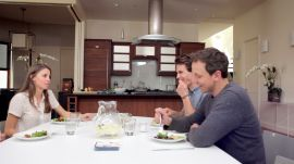 Seth Meyers Shares a Little Family Secret