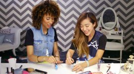 An Intimate Mani Moment with Michelle Phan