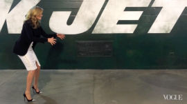 Behind the Scenes with Kate Upton at MetLife Stadium