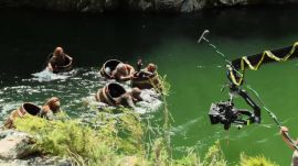 The Hobbit: The Desolation of Smaug: Creating a Waterlogged Action Sequence
