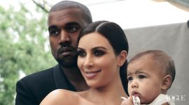 Kim Kardashian and Kanye West's Behind-the-Scenes Video From Their April Cover Shoot