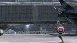 Captain America: The Winter Soldier: Staging the Helicarrier Crash