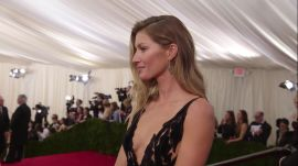 Gisele Bündchen at the 2014 Met Gala