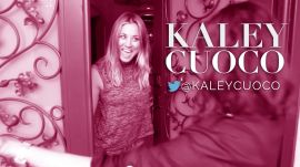 Kaley Cuoco Reveals Why She Smells So Good