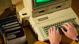 Apple IIe Personal Computer (1983)