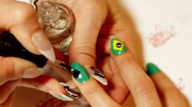 Brazilian Nail Design That's Muito Bonita