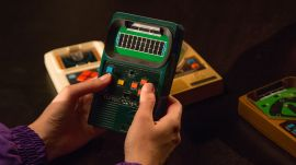Mattel Football 2 Handheld Video Game (1978)