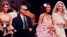 Karl Lagerfeld's Girls of Summer: Chanel Haute Couture Spring 1993