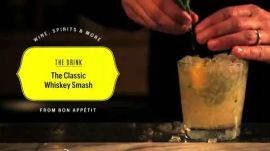 How to Make a Whiskey Smash