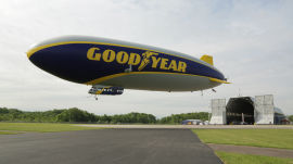 Goodyear Blimp Part 1: A New Airship Takes to the Skies