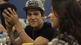 Austin Mahone Backstage Before His Sold-Out Concert in Phoenix