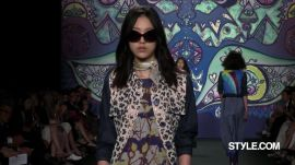 Anna Sui Spring 2015 Ready-to-Wear