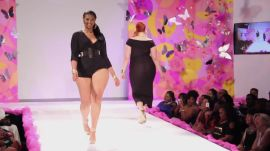 On the Runway at Full Figured Fashion Week