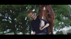 Instagirl: Edie Campbell and Her Horse Dolly Invite You to the Countryside