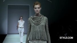 Giorgio Armani Spring 2015 Ready-to-Wear