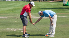 Michael Waltrip: Perfecting Your Setup for a Better Swing