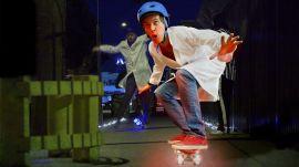LED Skateboard Battle
