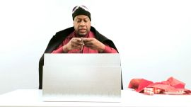 What Isn't a Metrosexual Gym Bag? André Leon Talley's Christmas Gift