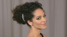 How to Do a Curly Updo in 5 Minutes or Less