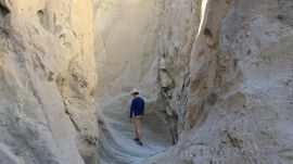 Hiking Painted Canyon