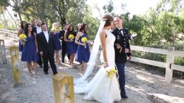 An Elegant Military Wedding in California