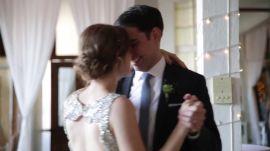 An Elegant-Meets-Rustic Wedding in Queens