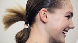 Watch Models Frolicking Backstage at Suno
