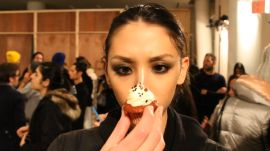 Backstage at Prabal Gurung: Selfies, Cupcakes, and Models