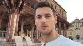 Around the World in 3 Minutes with Male Model Garrett Neff