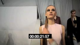 Before the Runway at Dior in 60 Seconds