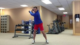 Fitness Friday: The Dumbbell Backswing