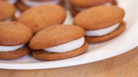 Making Whoopie Pie at One Girl Cookies