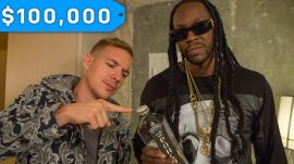 Diplo & 2 Chainz Try $100K Bottled Water