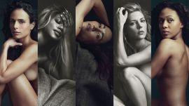 Jordana Brewster, Laverne Cox, and Other Celebrities Get Naked for Allure 2015